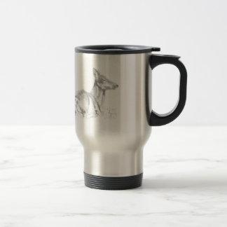 Deer Drawing Mug