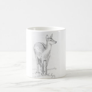 Deer Drawing Mugs