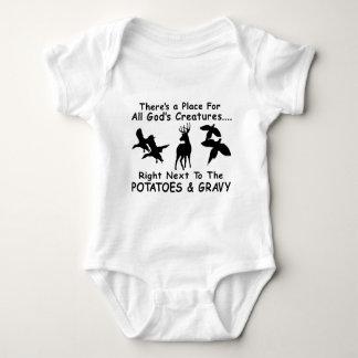 DEER,DUCK & PHEASANT HUNTING BABY BODYSUIT