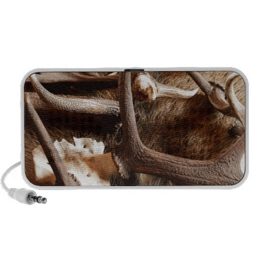 Deer Elk Moose Antlers Hunting Gift Ideas Hunters Speaker System