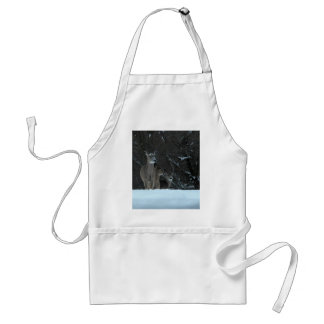 Deer Family Adult Apron