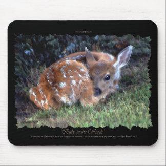 Deer Fawn Artistic Mousepad