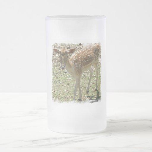 Deer Fawn Beer Mug