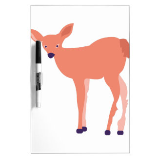 Deer Fawn Dry Erase Whiteboards