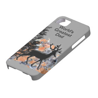 Deer for Dad's Day iPhone 5 Cover