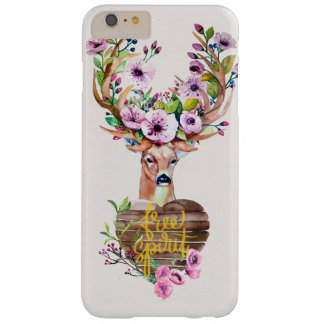 Deer Free Spirit Watercolor Design Phone Case
