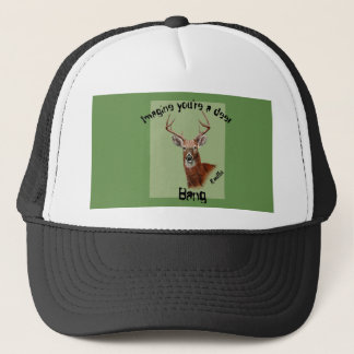 Deer hat with bang