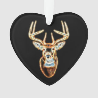 Deer Head digital Energy Spirit Ornament