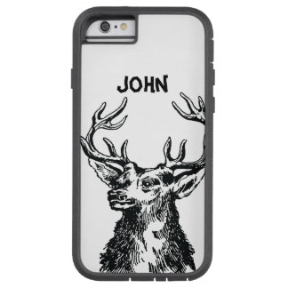 Deer Head Drawing Tough Xtreme iPhone 6 Case