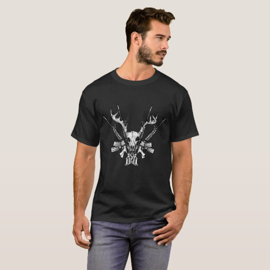 Deer Head Hunter T-Shirt