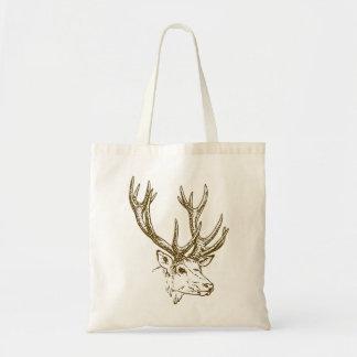 Deer Head Illustration Graphic