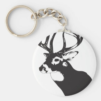 Deer Head Key Ring