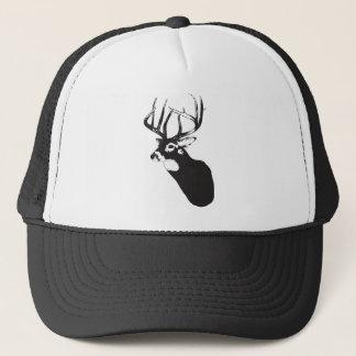 Deer Head Trucker Hat