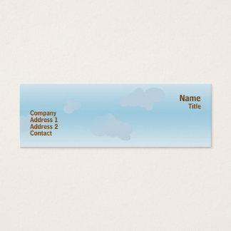 Deer Heaven - Skinny Mini Business Card