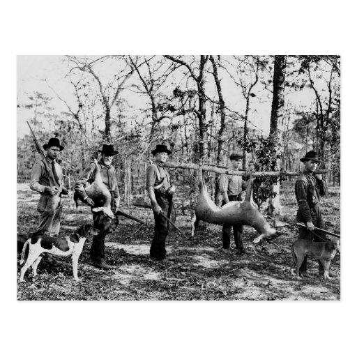 Deer Hunter, 1922 Post Card