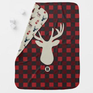 Deer Hunter baby blanket