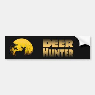 Deer Hunter Bumper Sticker