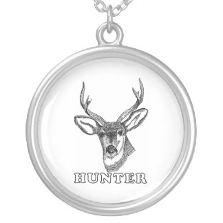 Deer Hunter Necklace