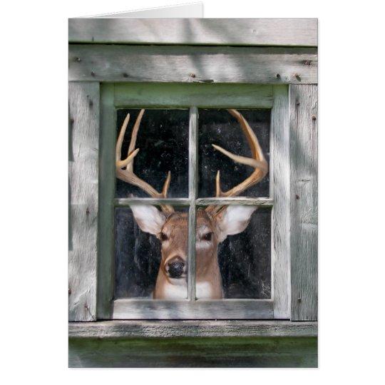 Deer Hunter's birthday Card