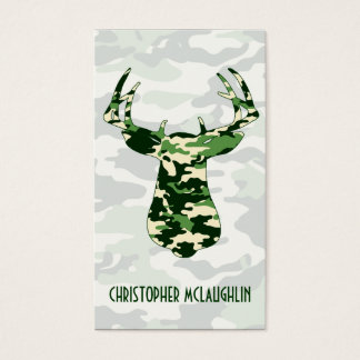 49+ Hunting Camo Business Cards and Hunting Camo Business Card ...