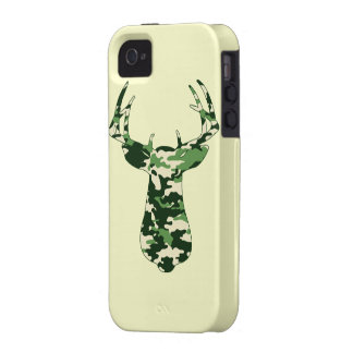 Deer Hunting Camo Buck Case-Mate iPhone 4 Covers