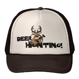 Deer Hunting Mesh Hat