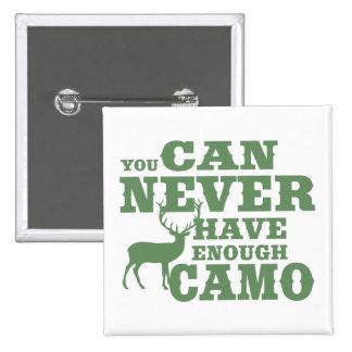 Deer Hunting Humor Camouflage 15 Cm Square Badge