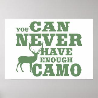 Deer Hunting Humor Camouflage Print