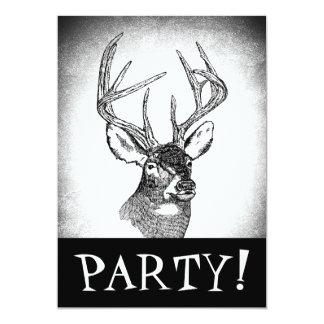Deer Hunting Invitation