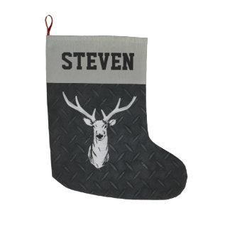 Deer Hunting Men's Christmas Stocking