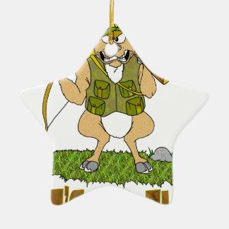 Deer Hunting Revenge Christmas Ornament