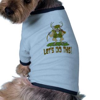 Deer Hunting Revenge Dog Tee