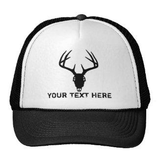 Deer Hunting Skull w/ Antlers Cap