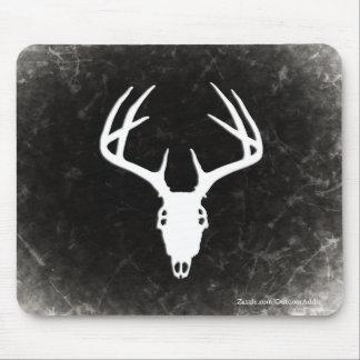 Deer Hunting Skull w/ Antlers Mouse Pad