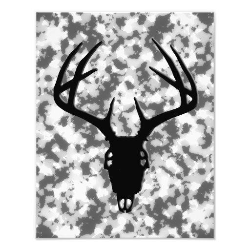 Deer Hunting Skull w/ antlers Photograph