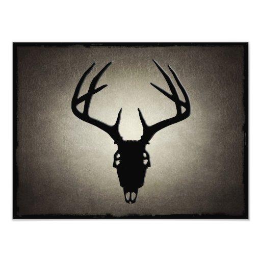 Deer Hunting Skull w/ Antlers Photo Print