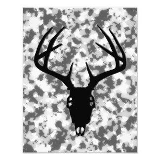 Deer Hunting Skull w antlers Photograph