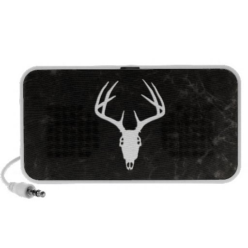 Deer Hunting Skull w/ Antlers Laptop Speaker