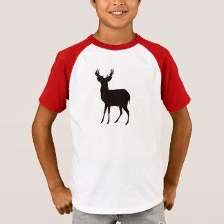 deer image on boy t shirt in attractive look