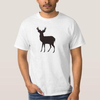 deer image on men's t shirt in attractive look