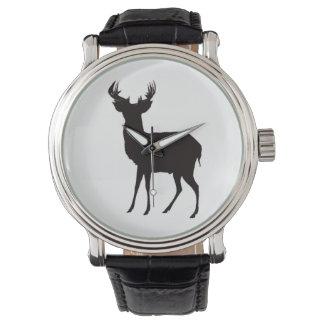 deer image on watch