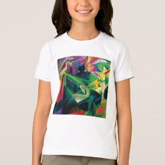 Deer in a Monastery Garden by Franz Marc T-Shirt