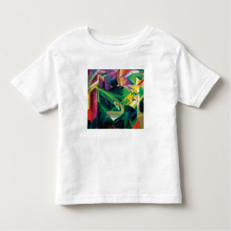 Deer in a Monastery Garden by Franz Marc Toddler T-Shirt
