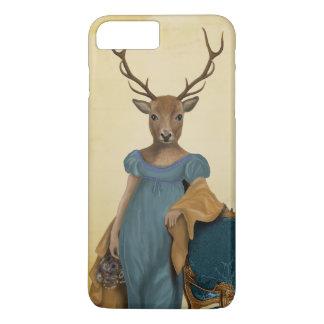 Deer In Blue Dress 2 iPhone 8 Plus/7 Plus Case