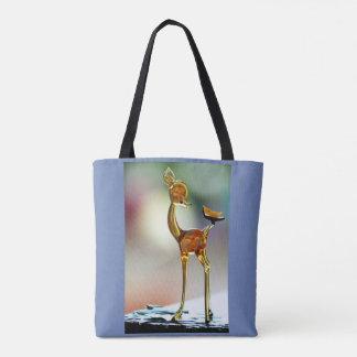 Deer in daylight tote bag