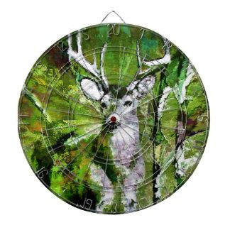 Deer in Fall Colors Dartboards