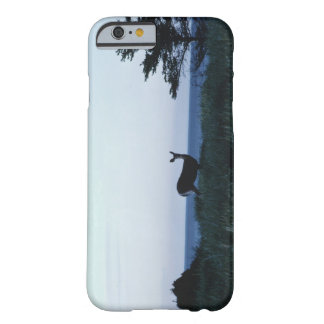 Deer in field by ocean barely there iPhone 6 case