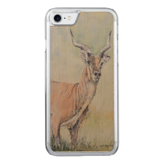 Deer in Field Carved iPhone 8/7 Case