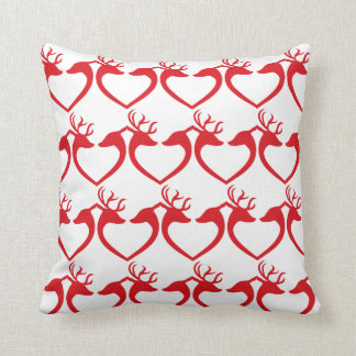 Deer In Love Pillow