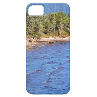 Deer in Nehalem Bay - Oregon State Park iPhone 5 Case